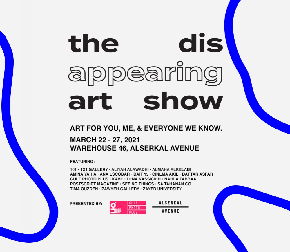 THE DISAPPEARING ART SHOW | Art for me, you, and everyone we know.