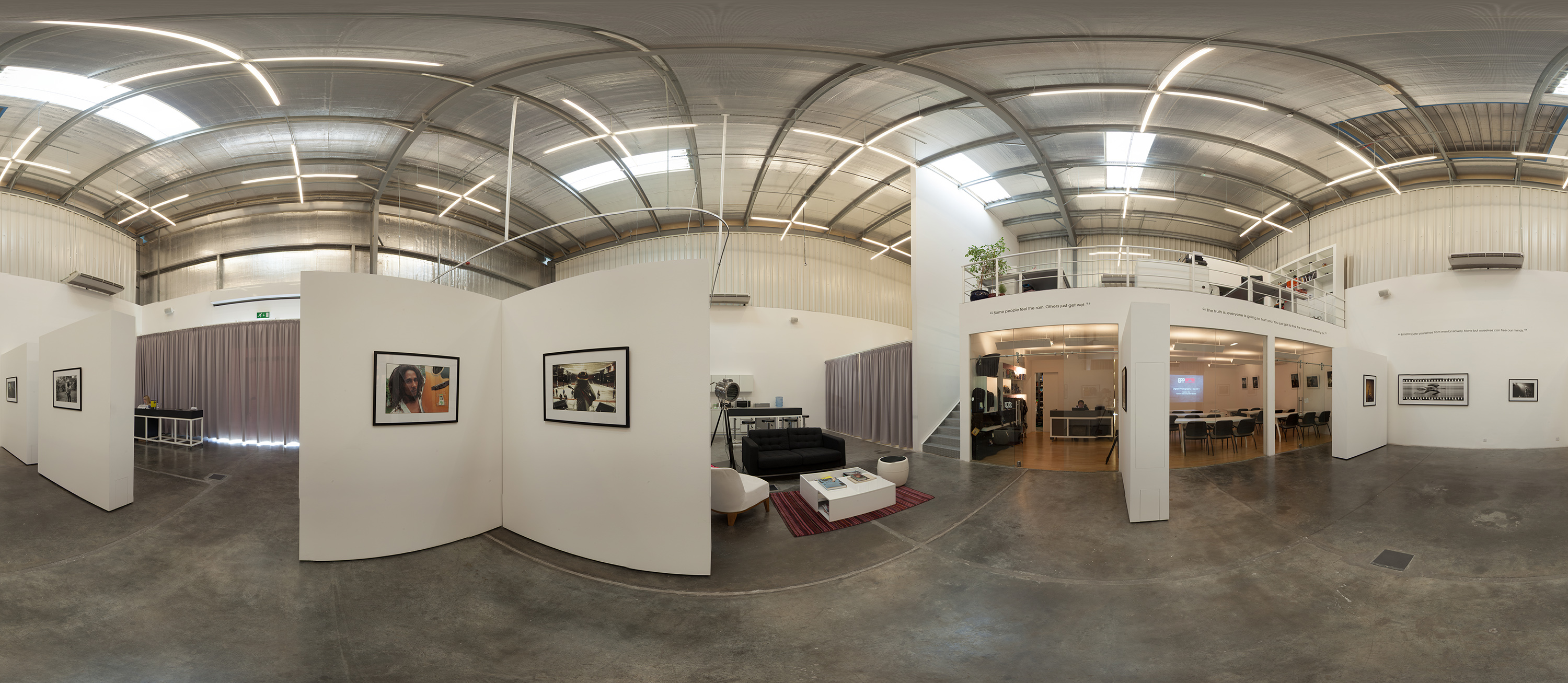 GPP: How we made a 360-degree panoramic image of the GPP Space
