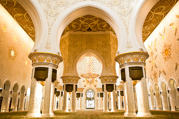 Grand Mosque by Melissa Beattie