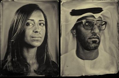 The Slow Portrait | UAE Tintype Photography by Antonie Robertson