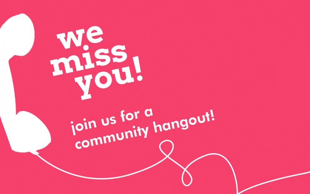 Online Community Hangout #1