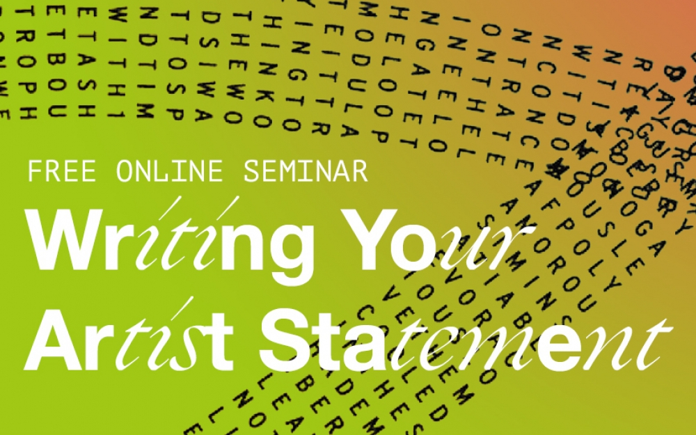 THE FUNDAMENTALS | Writing Your Artist Statement | Mays Albaik seminar | Goethe Institut X GPP