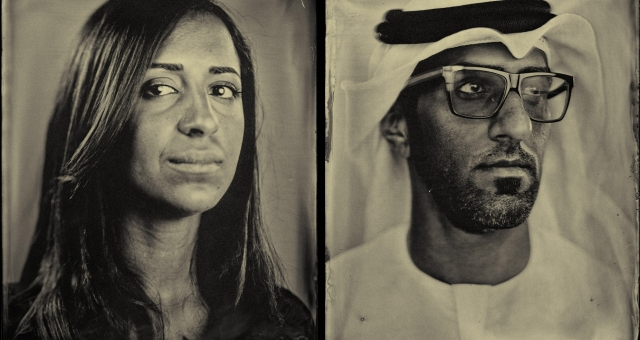 The Slow Portrait | UAE Tintype Photography by Antonie Robertson
