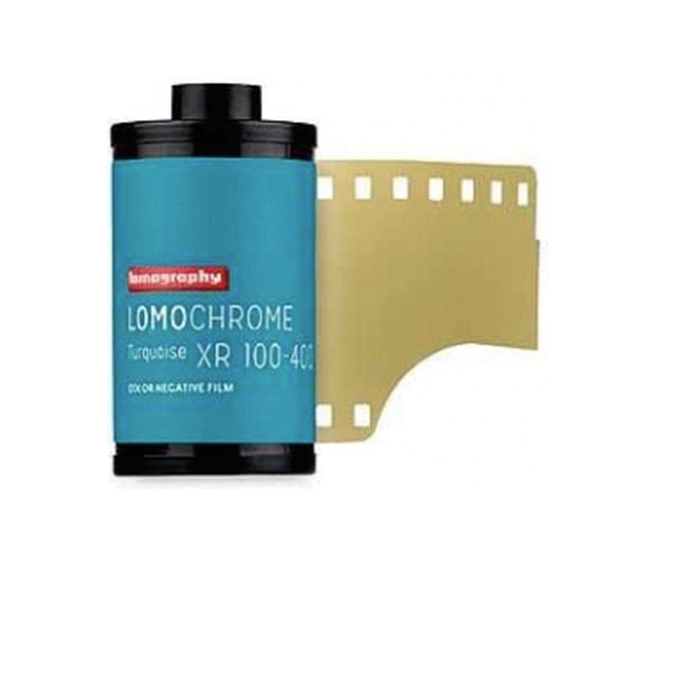 Lomography LomoChrome Turquoise XR Film, ISO 100-400 (35mm - Single Film)