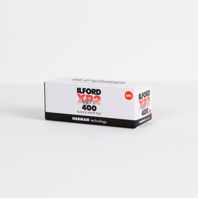 Ilford XP2 Super 400 (120) Single B&W Negative Film