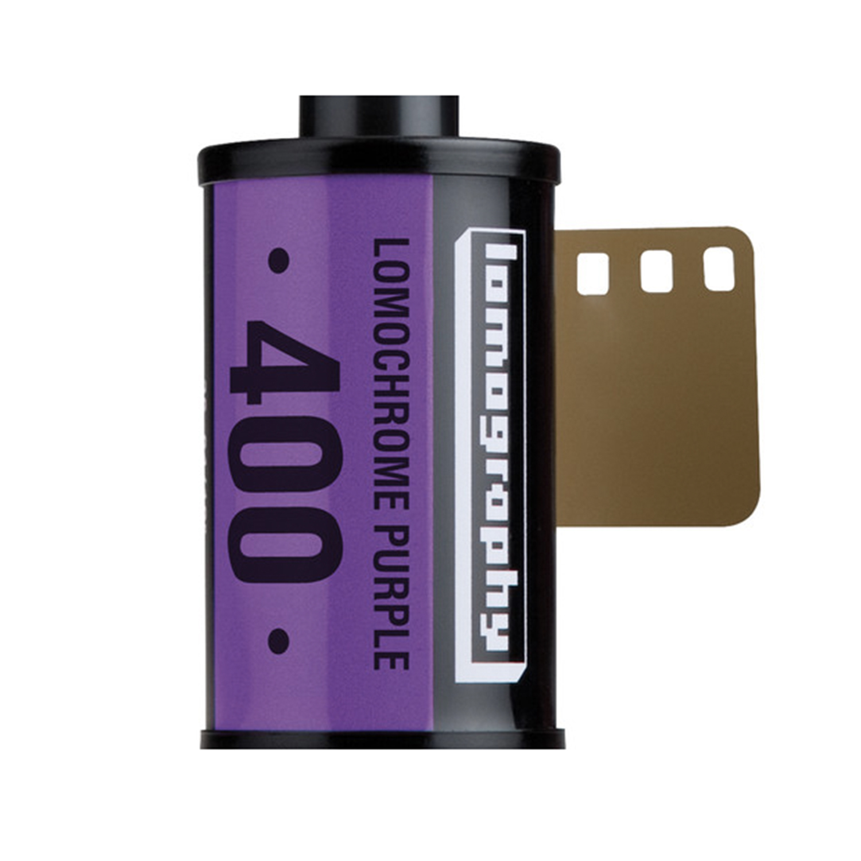 Lomography LomoChrome Purple XR Film, ISO 100-400 (35mm - Single Film)
