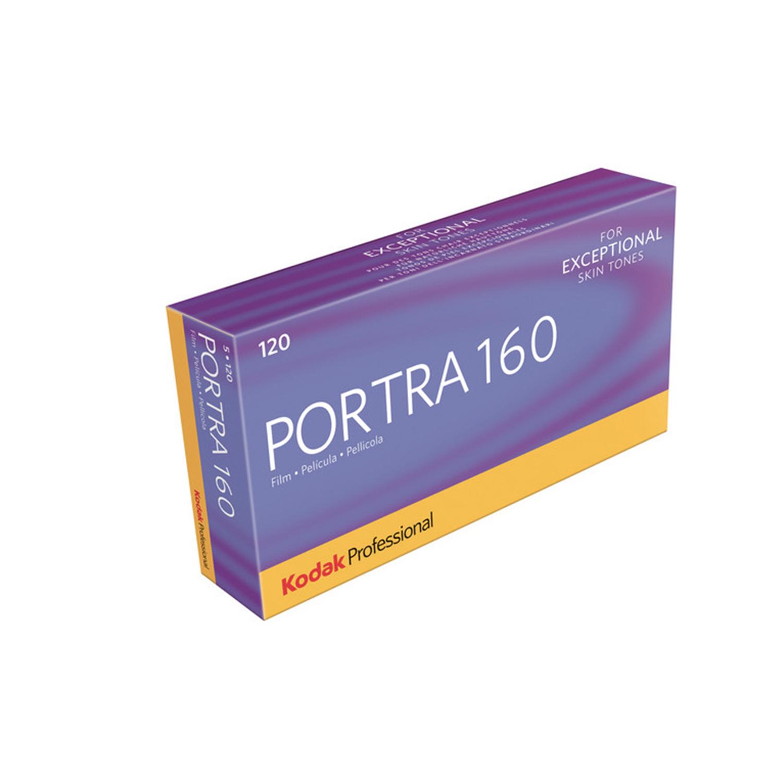 Kodak Portra, ISO 160 Colour Negative Film (120 - 5 Pack)