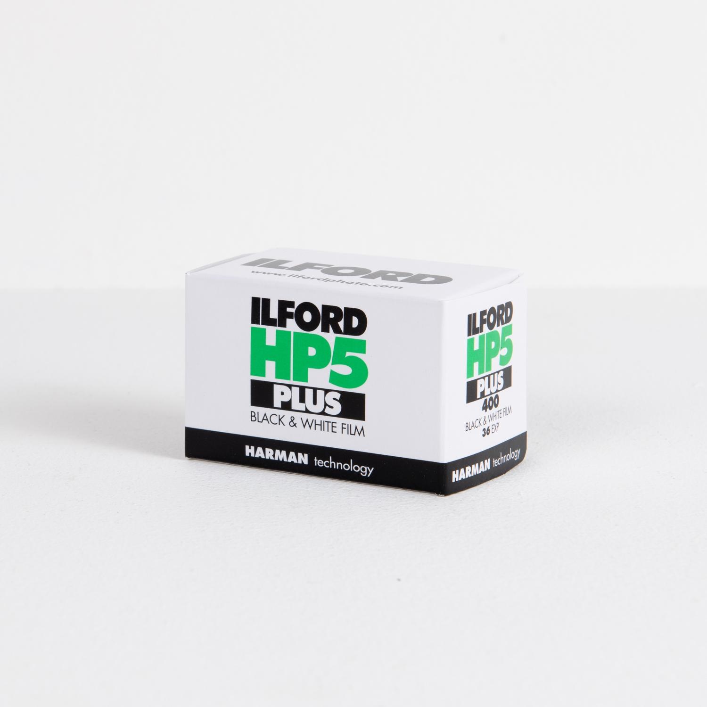 Ilford HP5 Plus, ISO 400 Black & White Negative Film (35mm - Single Film)