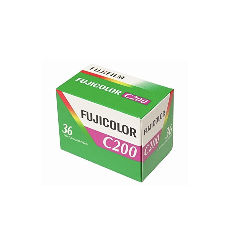 Fujifilm Fujicolor C200 Color Film (35mm- Single Film)