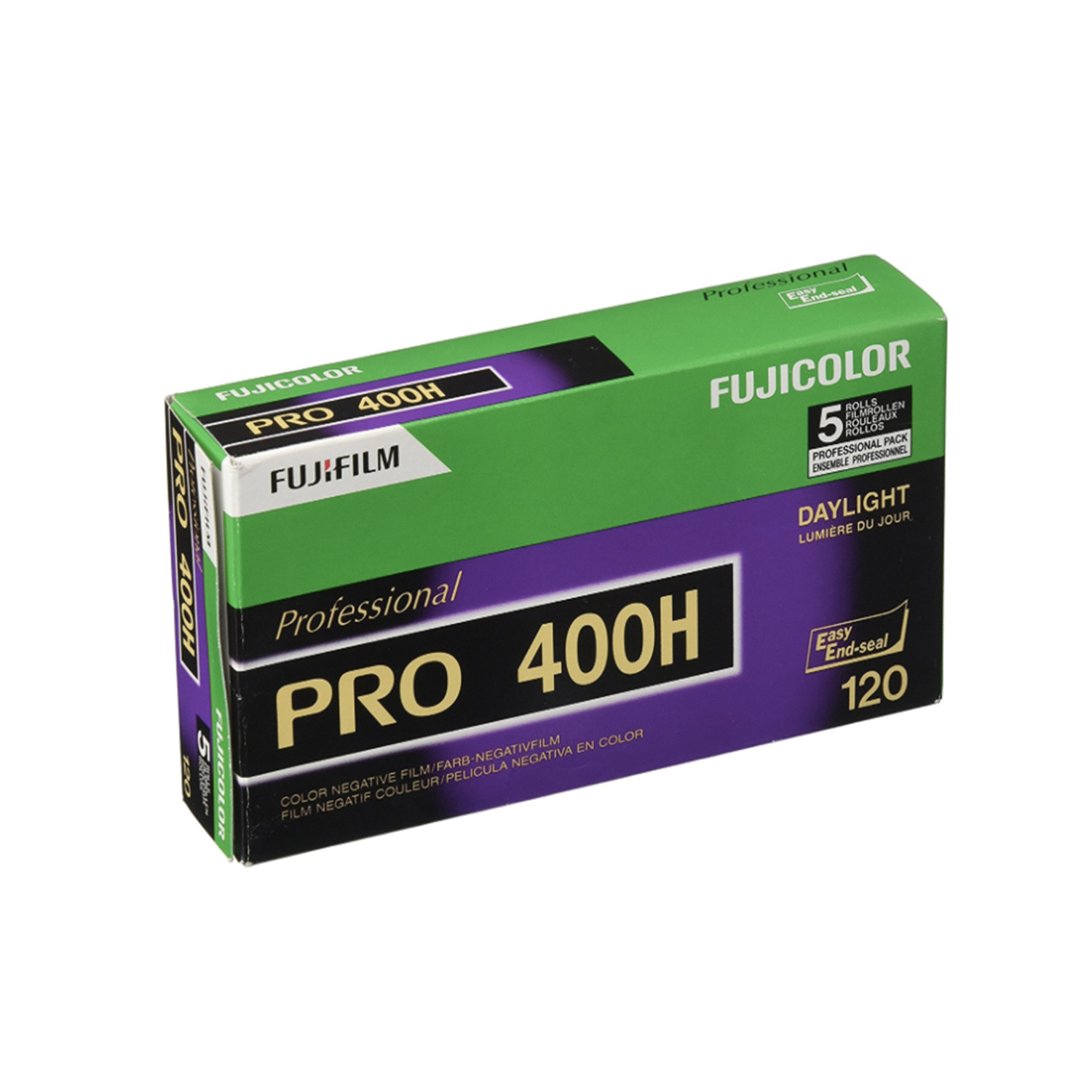 Fujifilm Fujicolor Pro 400H (120) 5-Pack Color Negative Film