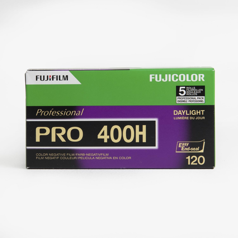 Fujifilm Fujicolor Pro 400H Color Negative ISO 400 (120 - 5 Pack)