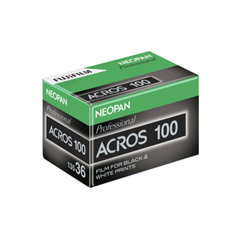 Fujifilm Neopan ISO 100 Acros Black and White Negative Film (35mm -  Single Film)