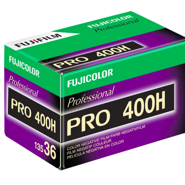 Fujifilm Fujicolor Pro 400H (35mm) Single Color Negative Film
