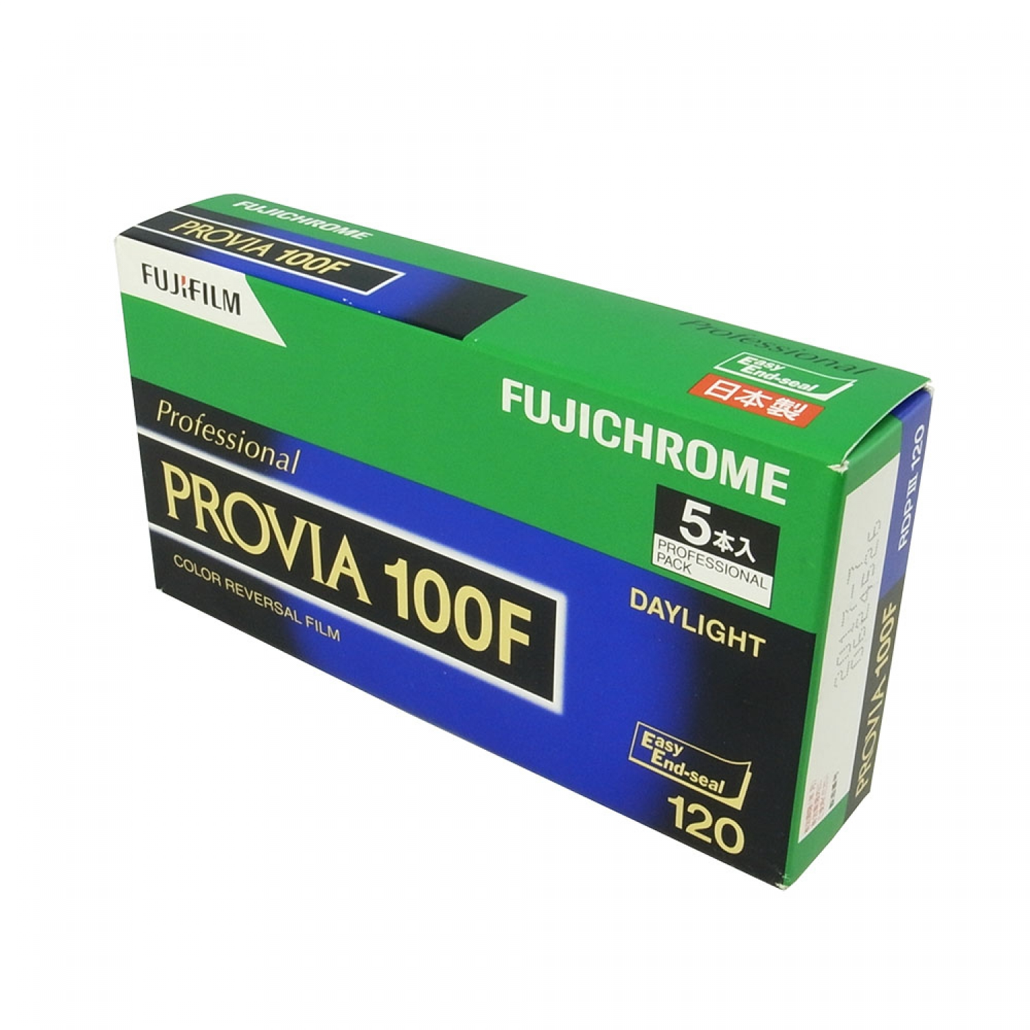 Fujifilm Fujichrome Provia 100F (120) 5-Pack Color Reversal Film