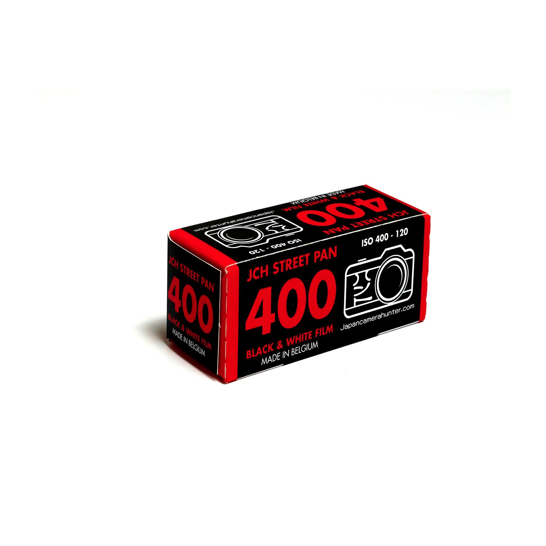 Japan Camera Hunter StreetPan 400 (120) B&W Negative Film
