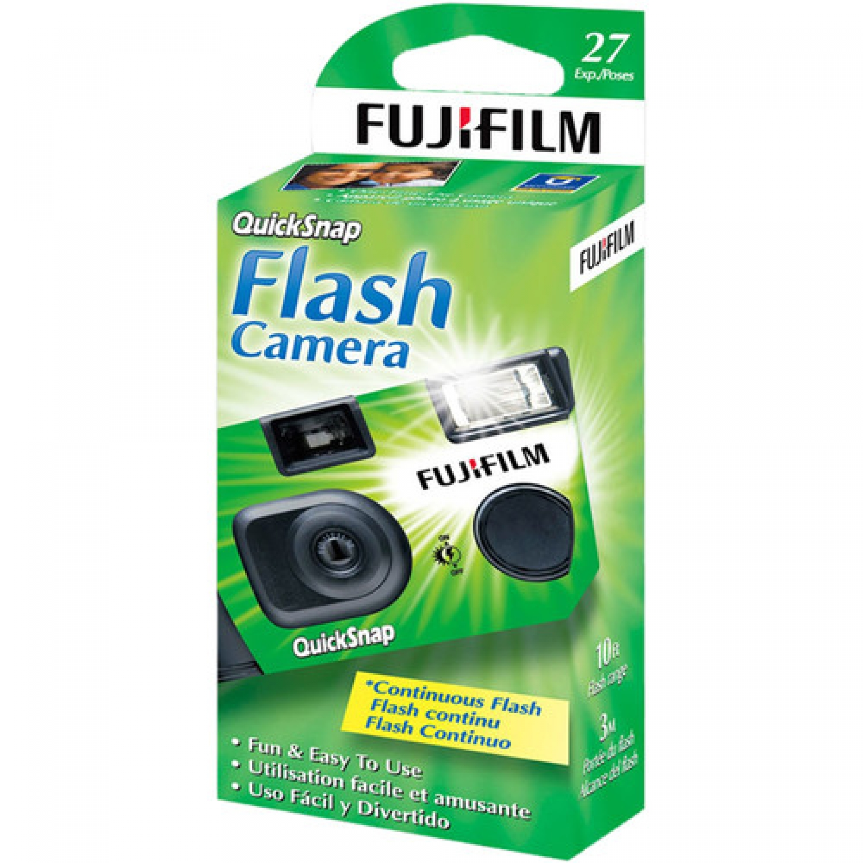 Fujifilm QuickSnap Flash 400 Disposable Camera (27 Exposures)