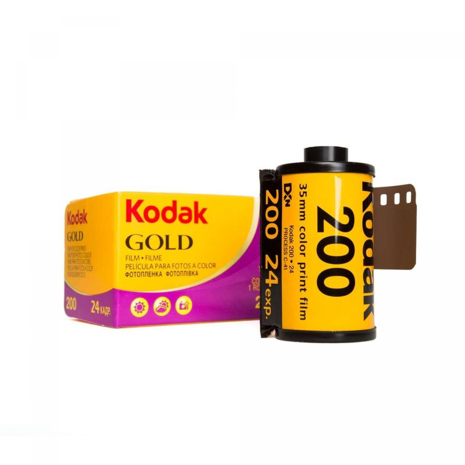Kodak Gold 200 (35mm) Single Color Negative Film