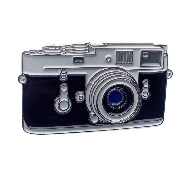 Classic Rangefinder Camera Pin