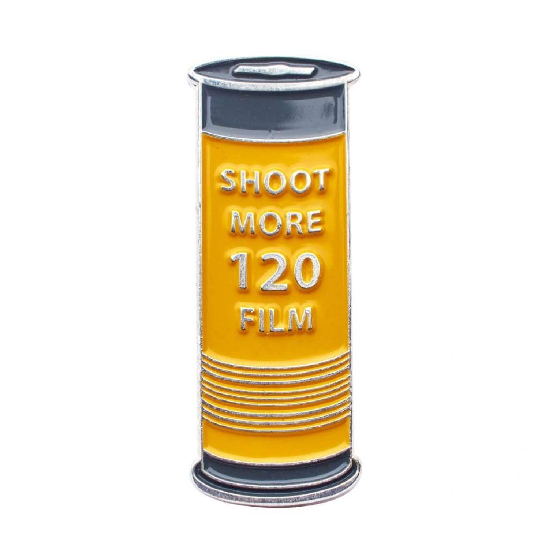 Shoot More 120 Film Pin