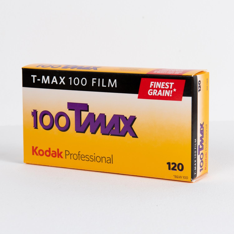 Kodak T-Max 100 (120) 5-Pack B&W Negative Film