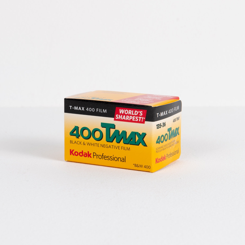 Kodak T-Max 400 (35mm) Single B&W Negative Film