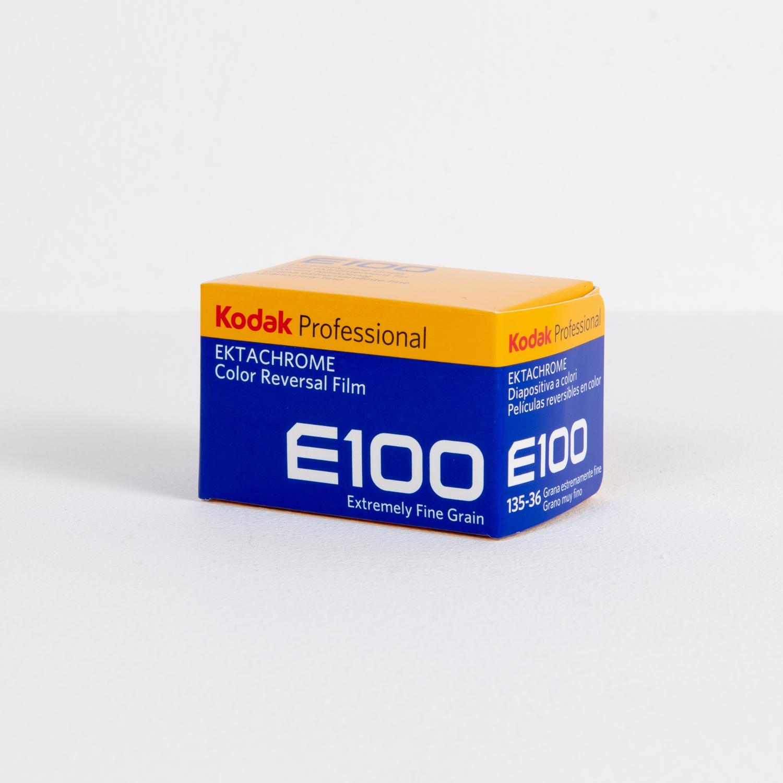Kodak Ektachrome E100 (35mm) Single Color Reversal Film