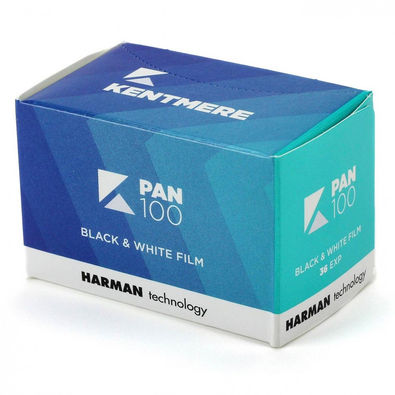 Kentmere PAN 100 (35mm) Single B&W Negative Film