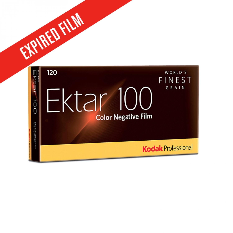 Expired 11/2019 | Kodak Ektar 100 (120) 5-Pack Color Negative Film