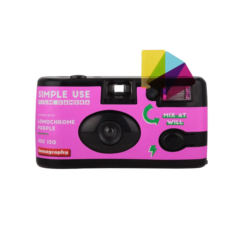 Lomo Purple Simple Use Reloadable Camera (35mm) 27 Exposures