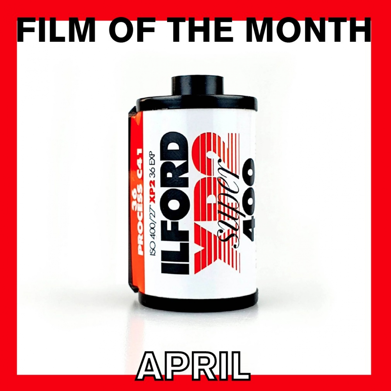 Film Of The Month   Ilford XP2 Super 400 (35mm) Single B&W Negative Film