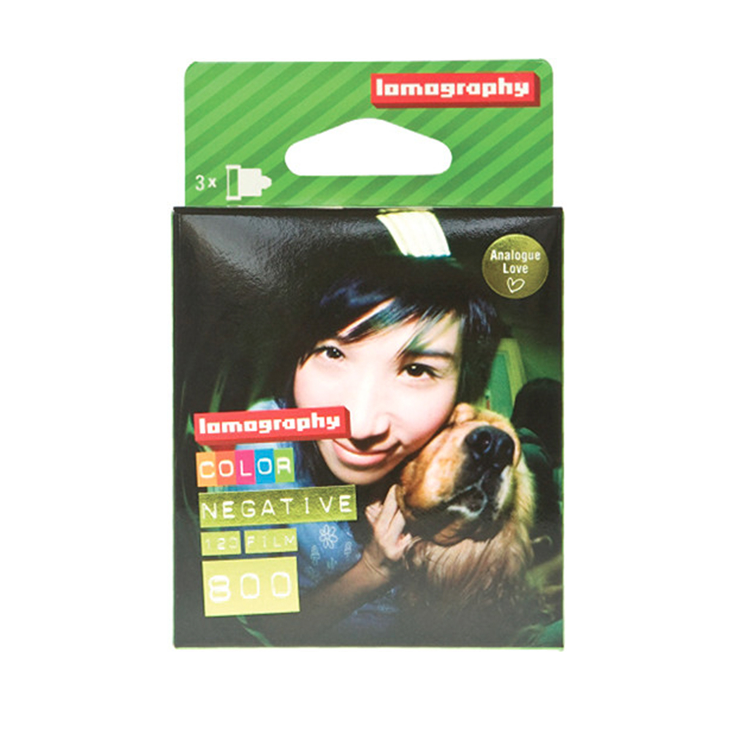 Lomography Colour Negative Film - ISO 800 (120 - 3-Pack )