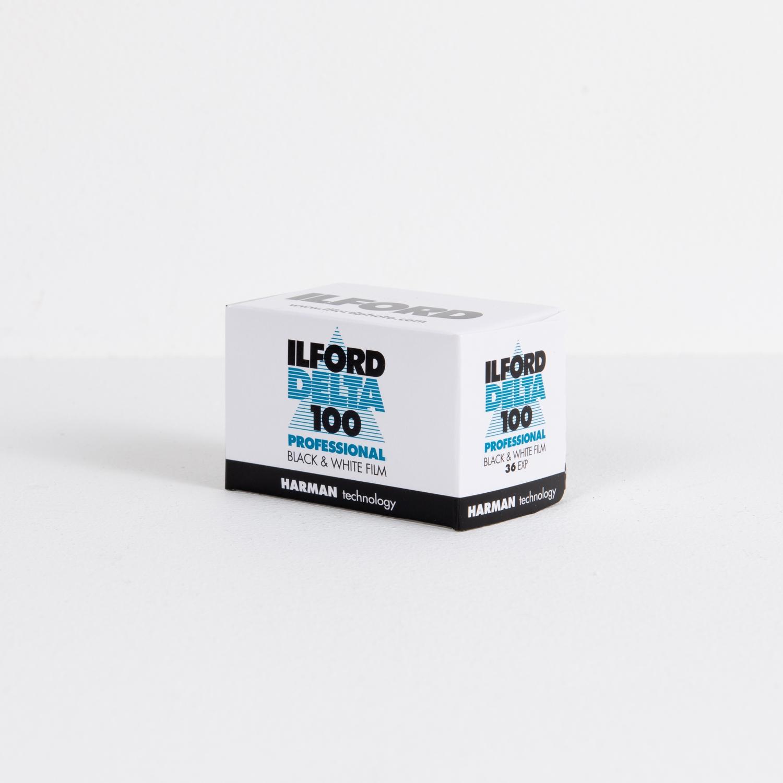 Ilford Delta, ISO 100 Professional Black & White Negative Film (35mm - Single Film)