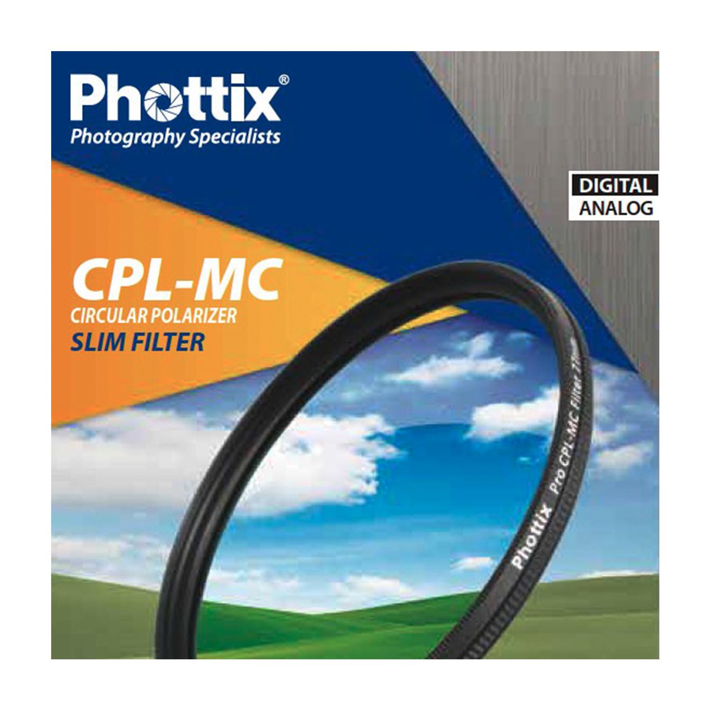 Phottix Circular Polarizer Filter - 58mm