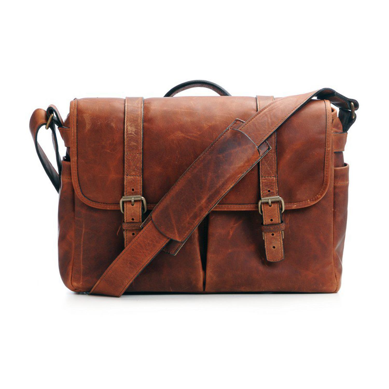 ONA Brixton Leather Camera Bag (Antique cognac)